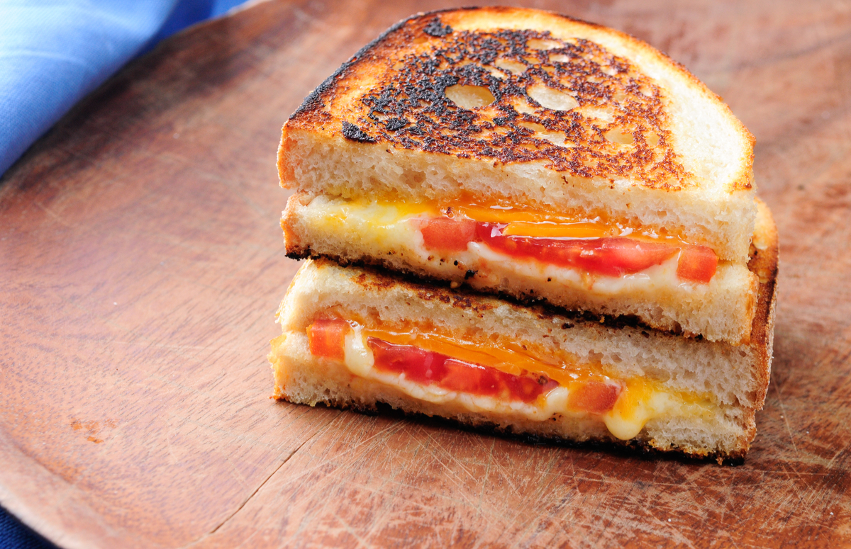Comfort Classic: Grilled Cheese & Tomato
