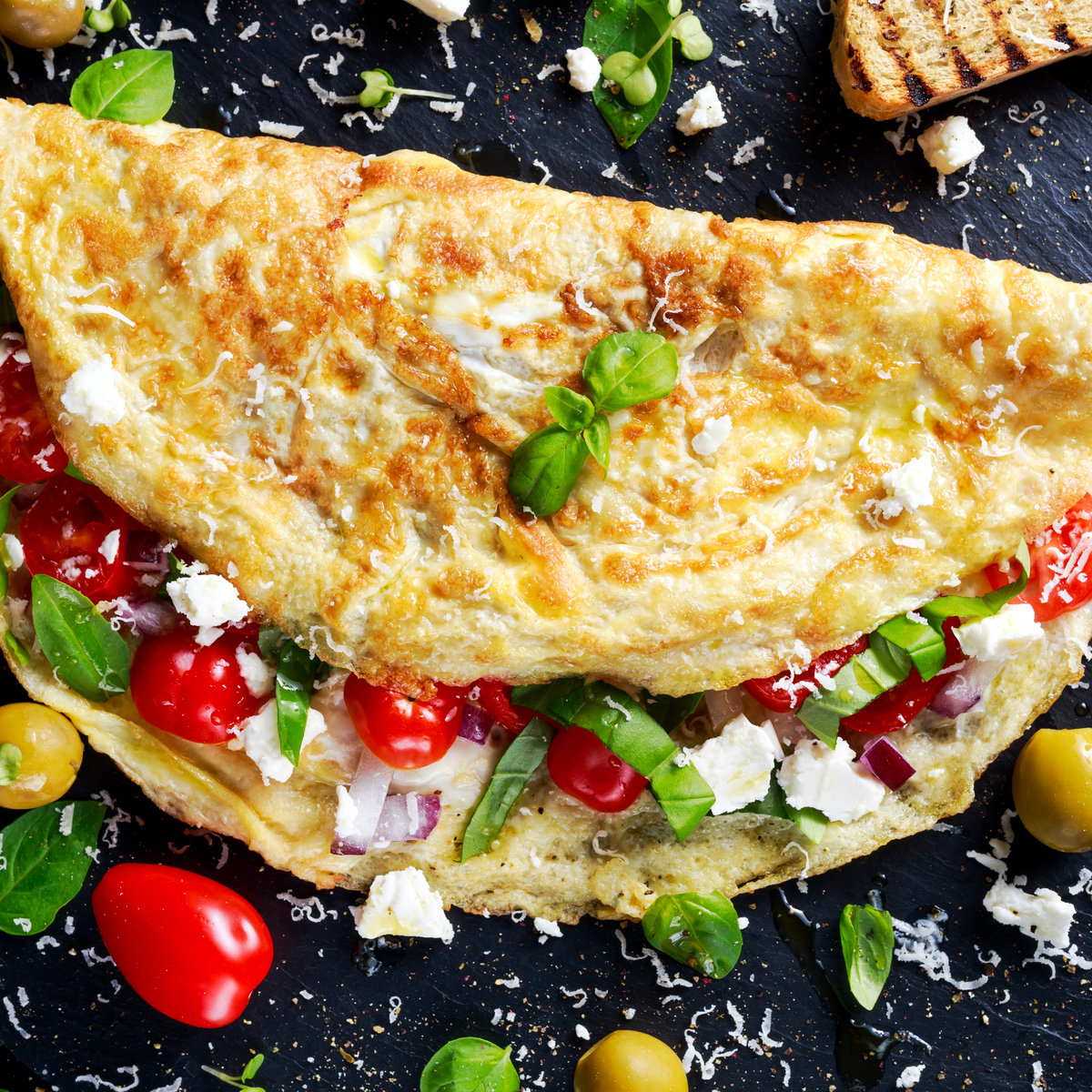 SECRET to the Fluffiest, Mouthwatering, Omelette EVER